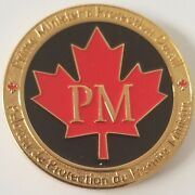 Rcmp Royal Candian Mounted Police Prime Minister Protection Detail Coin