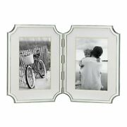 Double Hinged Silver Plated Picture Frame 4 X 6 Kate Spade Home Accents