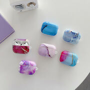 Smooth Marbling Earphone Case For Apple Airpods Pro 3rd Generation(do Not Fade)