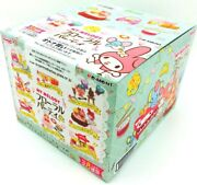 Re-ment My Melody Floral Party 8 Kinds Of Miniature Food Samples From Japan Nm