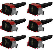 Msd Red Coil For Ford Eco-boost 2.7l V6 15-16 6 Pack Excellent Reliability