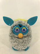 2012 Furby Raincloud Grey And Teal Used Tested Working Rare