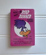 Vintage The Road Runner Card Game 1976 Sealed Whitman Nos