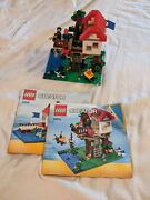Lego Creator 3-in-1 Treehouse 31010 99 Complete Minifigs Manuals