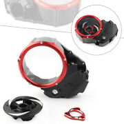 1x Clear Clutch Cover Protector Guard For Ducati X-diavel 2019-2020 Motorcycle