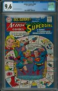 Action Comics 360 Cgc 9.6 3-4/68 Dc 80 Page Giant White Pages