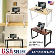 43and039and039 Computer Table Desk Home Office Writing Furniture Shelf Study Workstation