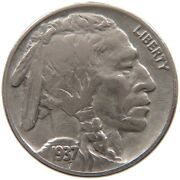 United States Nickel 1937 A50 077