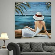 3-d Painting For Wall Beach House Cabin Second Home Accent Decoration Art