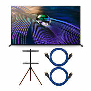 Sony Xr-55a90j 55-inch Oled 4k Uhd Hdr Smart Tv With Tv Floor Stand Bundle
