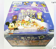 Re-ment Disney Dream And Magic Restaurant All 8 Types Set New In Box