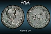 Agrippina Sr, Sestertius - Wife Of Germanicus, Mother Of Caligula 36mm 30g - 25