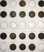 Coin Set From 1888-1908 / Indian Head Penny