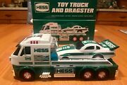 Unopened 2016 Hess Toy Truck And Dragster - Brand New Collectible