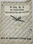P-3a, B, C Orion Air Conditioning, Pressuization And Utilties Training Manual