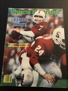 11/8/82 Sports Illustrated, John Elway - Stanford 1st Cover, Subscription Issue
