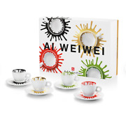 Illy Art Collection 2021 -ai Weiwei - 4 Espresso Cups - Rare