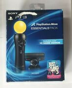 Playstation Move Essentials Bundle For Playstation 3 Ps3