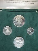 Malawi 1964 Proof Coin Set 6 Pence Shilling Florin And Half-crown Royal Mint
