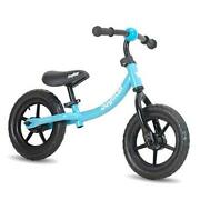 12 Inch Kids Balance Bike For Ages 2 3 4 5 Years Old Boys Toddler Push Blue
