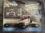 New Peak Backup Camera License Plate Connection Easy Install
