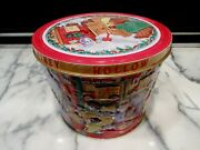 Large Utz Christmas Tin Limited Collectors Edition 2000 Piney Hollow Potato Chip