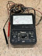 Vintage Simpson 260 Multimeter With Leads