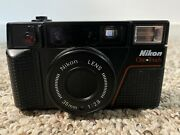 Nikon One Touch L35af 2nd Gen Point And Shoot Film Camera W/ 35mm F2.8 Lens D