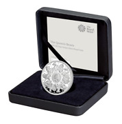2021 Royal Mint Queen's Beasts Completer Silver Proof One Ounce 1oz - Sold Out