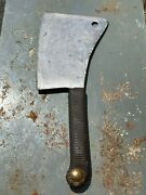 Antique Foster Bros Meat Cleaver