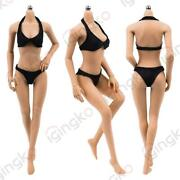 Jiaou Doll 1/6 Female Action Figure Body Middle Bust Super Flexible For 12 Head