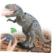 Remote Control Dinosaur Toys For 3-12 Year Old Boys Girls Led Light Up