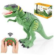 Remote Control Dinosaur Toys For 3-5 Year Old Boys Girls Led Light Up
