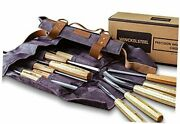 Wood Carving Tools Set Of 12 Wood Chisels - Glides Through Wood Like Butter -
