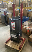 Gray Qp-160 Oil Filter Crusher Air Operated 11 Tons