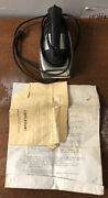 Antique Vintage 1950's Nassau Products Toy Steam Iron 145 Troy Ny Auction1