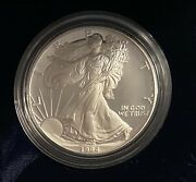 1994-p American Silver Eagle Proof In Original Box With Coa - Low Mintage Key