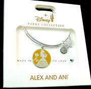New Disney Alex And Ani Belle Find True Beauty Within Silver Bangle Bracelet