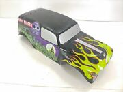 20 Long Grave Digger 1/8 Scale Monster Truck Rc Body Hpi
