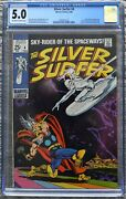 Silver Surfer 4 1969 Cgc 5.0 Vg/fn Ow/wp, Thor Appearance