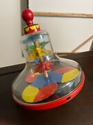 Vintage Baby Child Toy Game Spinning Top