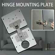 Hinge Repair Plate For Cabinet Furniture Drawer Window Stainless Steel Table