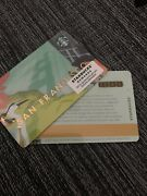 Set Of 11 New And Unloaded Starbucks San Francisco Gift Card No Value