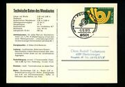 Postal History Germany 1114 Post Card Lunar Rover Space Rocket 1973 Feucht