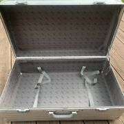 """Rimowa Vintage Aluminum Briefcase Large 27.5"""" Made In Germany Art Transport"""