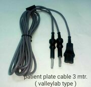 Laparoscopic Patient Plate Cable Valley Lab Fitting 3 Meter 5 Piece Set