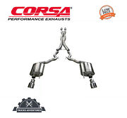 Corsa Performance 14342blk Xtreme Cat-back Exhaust System Fits 15-17 Mustang