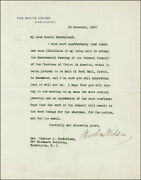 Woodrow Wilson - Typed Letter Signed 11/18/1920
