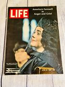 Martin Luther King's Funeral - Life Magazine - America's Farewell April 19, 1968