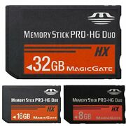 Memory Stick Ms Pro Duo Fast Flash Card Adapter For Sony Psp 1000 2000 3000